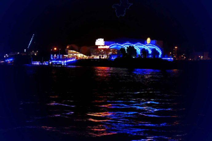 Hafen | Hamburg | Nacht | Elbe