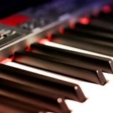 Elektrisches Digital Piano   Tonstudio